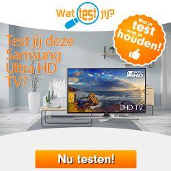 Gratis Samsung HDTV testen en houden
