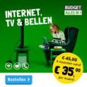 Internet, TV en bellen voor maar € 35 per maand!