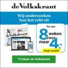 8 Weken de Volkskrant voor €4 (stopt vanzelf!)