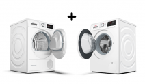 Testen en houden! Bosch Wasmachine en droger!