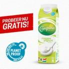 Test nu gratis liter PlanetProof Campina Magere Yoghurt