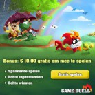 Gratis online spelletjes spelen + € 10 gratis tegoed