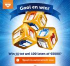 Gooi & Win tot 100 Staatsloten of €5.000 netto | Altijd prijs!
