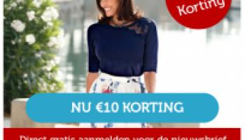 Gratis €10 shoptegoed voucher bij Klingel