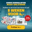 Gratis tot 8 weken krant naar keuze | stopt automatisch!!