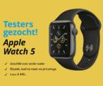 Gratis Apple Watch 5 t.w.v. €449 testen en houden
