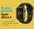Gratis Apple Watch 5 t.w.v. €449 testen en houden