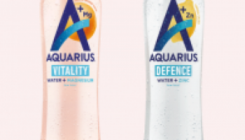 Gratis Aquarius Water + essential minerals 400ml