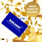 Gratis Bol.com-bon t.w.v €25 + kans op prachtprijzen!