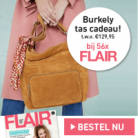 Gratis Burkley tas t.w.v. € 129,95 bij Flair