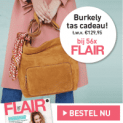 Gratis Burkley tas t.w.v. € 129,95 bij Flair