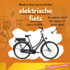 Win een Cortina e-bike + 3 andere kansen op gratis e-bikes