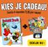 Gratis kado naar keuze + 4 specials bij Donald Duck