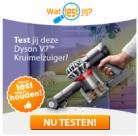 Gratis Dyson V7 Kruimelzuiger testen en houden