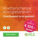 Gratis €350 'Kom erbij'-bonus bij NLE (energie)