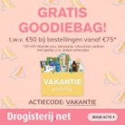 Gratis Goodiebags t.w.v. €50 bij Drogisterij.net