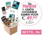Gratis Goodiebox t.w.v. €157 bij 13 nummers Margriet