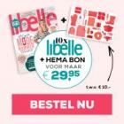 Gratis HEMA bon bij 10 nummers Libelle of Margriet