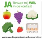 Gratis Ja-Nee Koelkaststicker van het Voedingscentrum