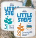 Test gratis LITTLE STEPS opvolgmelk t.w.v. €9,99