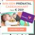 Gratis Prénatal cadeaukaart t.w.v. € 250
