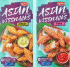 Gratis 'Asian style' vissnacks Thais of Japans testen