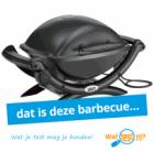 Gratis Weber BBQ t.w.v. €289 testen én houden!