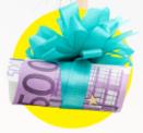 Gratis kans op €500 vakantiegeld   Meerdere winnaars!