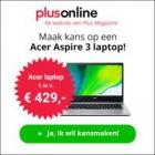 Gratis receptenboek + kans op een Acer Laptop twv €429!