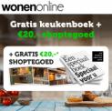 Gratis Wonenonline keukenboek + €20 shoptegoed!