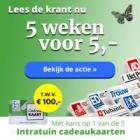 Gratis 5 weken krant plus 5 x kans op € 100 bij Intratuin