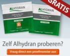 Gratis proefmonster Alhydran littekencrème