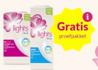 Gratis proefpakket Lights by TENA