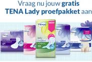 Gratis proefpakket TENA Lady of TENA Men