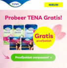 Gratis proefpakket TENA Vrouwen en TENA Men