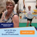Gratis proefweek met personal trainer en gratis healthscan