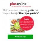 Gratis receptenboekje 'Heerlijke pasta's'!