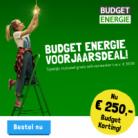 Gratis wifi-versterker en €250 cashback bij Energie Budget