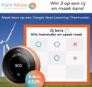 Kans op een gratis Google Nest Learning Thermostat!