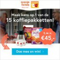 Gratis kans op een Douwe Egberts koffiepakket! (x15)
