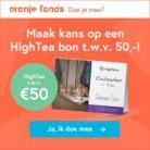Beantwoord de vraag en win een gratis HighTea bon (€50)