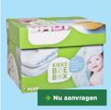 Gratis producten voor je baby: Kiekeboebox twv €40