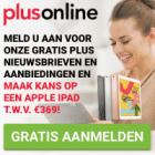 Schrijf je in en win een gratis Apple iPad t.w.v. €369