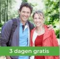Drie dagen volledig gratis daten