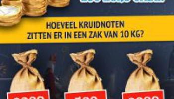 Raad & Win €250 cash in de gratis Pepernotenquiz!