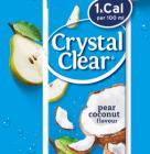 Probeer de nieuwe Crystal Clear Peer-Cocosnoot gratis