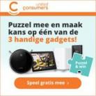 Puzzel & Win: een robotstofzuiger, videodeurbel of Smart Display
