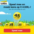 Gratis winspel met kans op € 4.500!