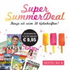 Super Summer Deal: 27 Tijdschriften voor € 9,95!!