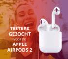Test (en houd!) gratis Apple AirPods 2
